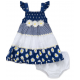 Little Me Baby Girls Two-Piece Dress and Bloomers Set: 12 -24 months