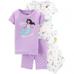 Carter's Mermaid Tops & Bottoms Pajama Set