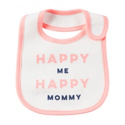 Carter's Happy Mommy Me Happy Mommy Teething Bib