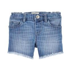 OshKosh Rainbow Stretch Denim Shorts