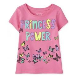 Baby Girls Princess Power Graphic Tee