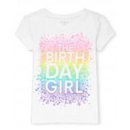 Girls Birthday Graphic Tee by CP