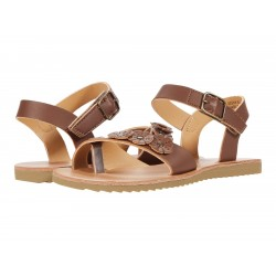 Rachel Shoes Deena Girls' Sandals  (Toddler-Youth) - DARK BROWN