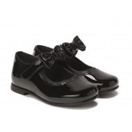 Rachel Shoes Penny Mary Jane Flat - BLACK