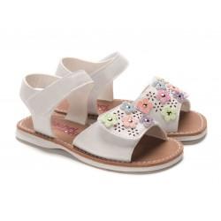 Rachel Shoes Multi  Floral Lulu Sandal - Toddler Girls