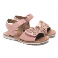 Rachel Shoes Blush Pink  Floral Lulu Sandal - Toddler Girls
