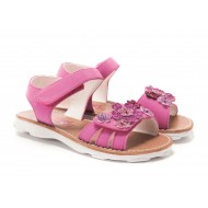 Rachel Shoes Bright  Pink  Floral Sophie  Sandal - Toddler Girls