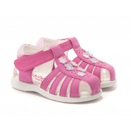 Rachel Shoes Bright  Pink Nina Sandal - Toddler Girls
