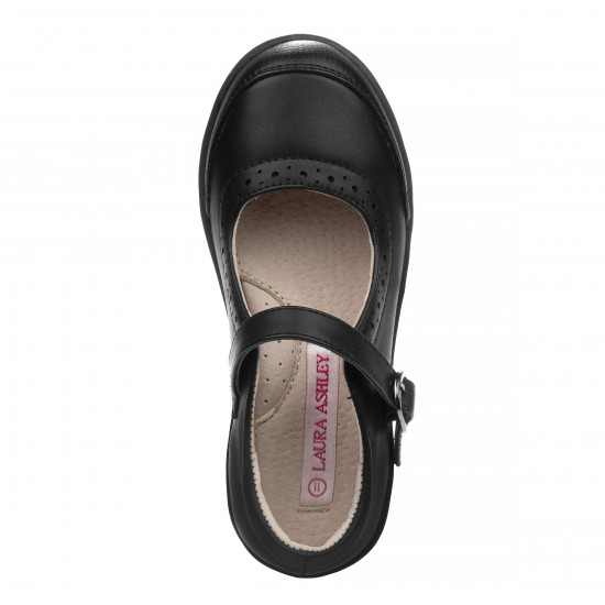 Laura Ashley Girls' Mary Jane Shoes - Little  Girls