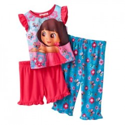 Dora the Explorer Butterfly Pajama set -18 months