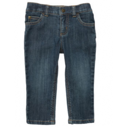 Carters baby girl 5 pocket jeans - 6 months