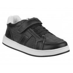 Beverly Hills Polo Club Black Lightly Textured  Sneakers