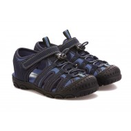 Scott David Lil Lucas Fisherman Sandals -BLUE