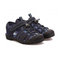 Scott David Lil Lucas Fisherman Sandals -BLUE