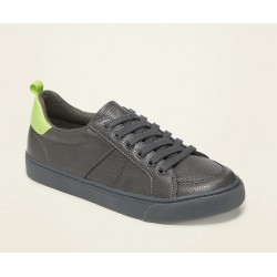 Faux-Leather Sneakers for Boys by Old Navy