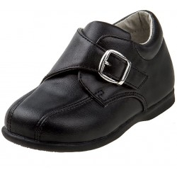 Josmo Boy's Walking Dress Shoe with Buckle