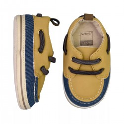 Carter's Baby Boy Boat Crib Shoes - Brown