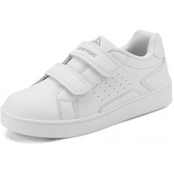 DREAM PAIRS Boy/Girl  Loafers Sneakers - White