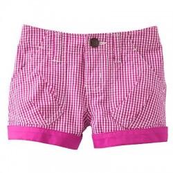OshKosh B'gosh Checkered Shorts- Pink