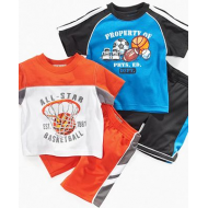 Kids Headquaters Tee Shirt and Shorts  - All Star Basketball - 12 months